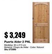 Oferta de Puertas por $3249