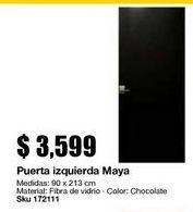Oferta de Puertas por $3599