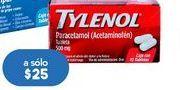 Oferta de Analgésicos Tylenol 10 tabletas por $25