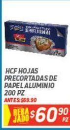 Oferta de Papel aluminio HCF por $60.9