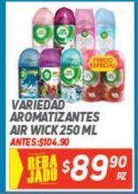 Oferta de Aromatizante en aerosol Air Wick por $89.9