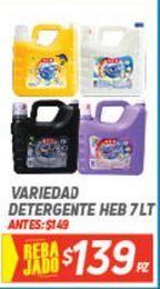 Oferta de Detergente líquido HEB por $139