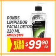 Oferta de Limpiadores Pond's por $99.9