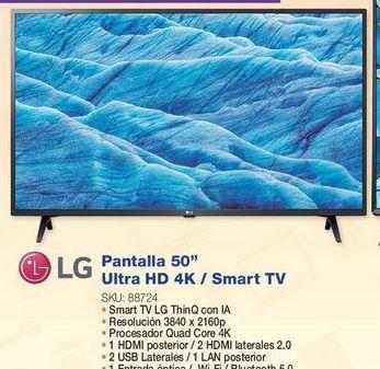 Oferta de Smart tv LG por