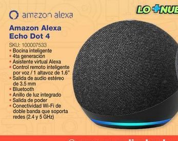 Oferta de Bocinas bluetooth Echo Amazon Alexa por