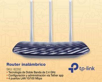 Oferta de Router TP-Link por