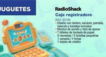 Oferta de Caja registradora de juguete Radioshack por
