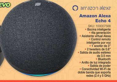 Oferta de Bocinas bluetooth Amazon Alexa por