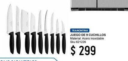 Oferta de Cuchillos Tramontina por $299