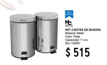 Oferta de Bote de basura baño por $515
