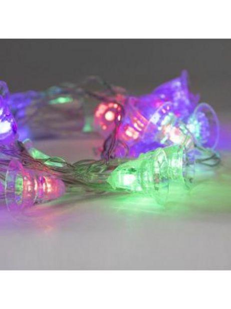 Oferta de Luces Fig Campana Colores 1811XM-015 por $79.99