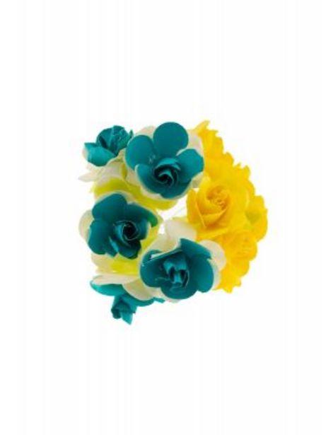 Oferta de Ramo de Flores Grande/ Morado-Azul por $9.99