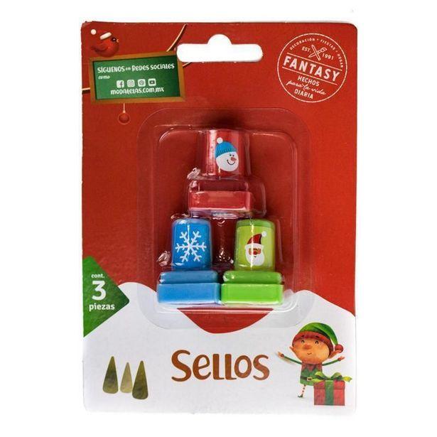 Oferta de Sello navideño por $2499