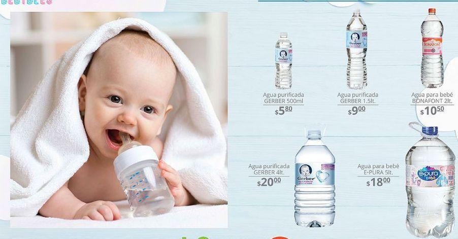 Oferta de Agua Gerber por