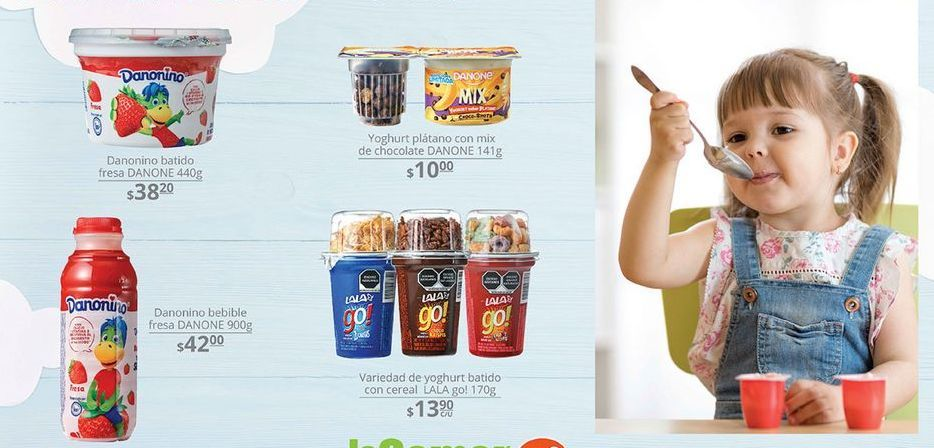 Oferta de Yogurt Danonino por