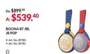 Oferta de Bocinas bluetooth JBL por