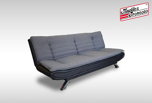 Oferta de SOFA CAMA GSA-13233GX BED GREYS AND BLACK por $7990