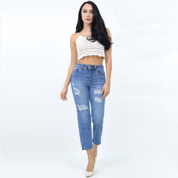 Oferta de Jeans Douche  Urbano Mujer 506179 Azul por $299