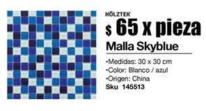 Oferta de Mallas Skyblue por $65