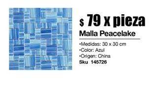 Oferta de Mallas peacelake por $79