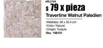 Oferta de Pisos Holztek walnut paledien por $79