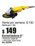 Oferta de Esmeriladora 9''  por $149