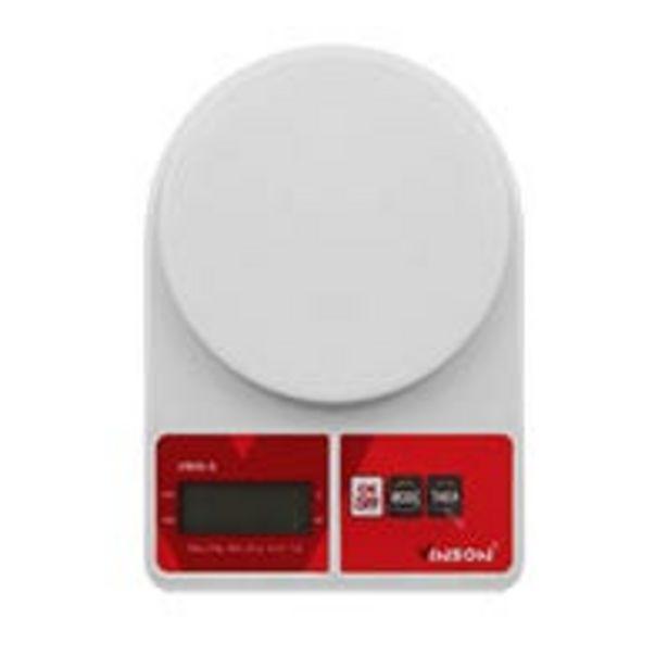 Oferta de Báscula de cocina Vinson 5kg blanca por $104.25