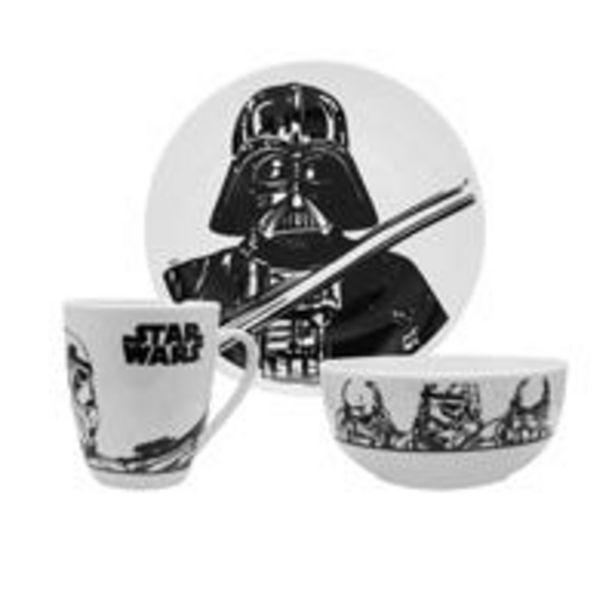 Oferta de Vajilla Star Wars Siglo XXI 12 piezas por $589