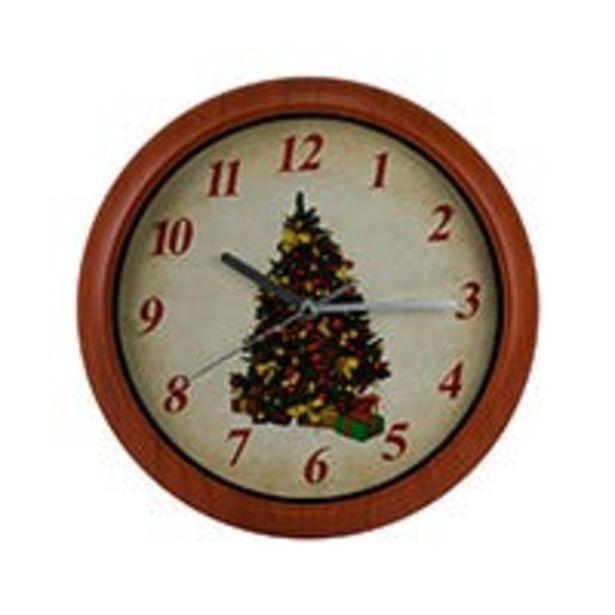 Oferta de Reloj de pared varios decorados por $129