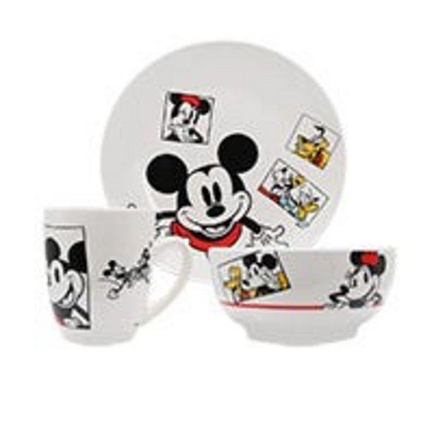 Oferta de Vajilla Mickey and Friends Siglo XXI 12 piezas por $589