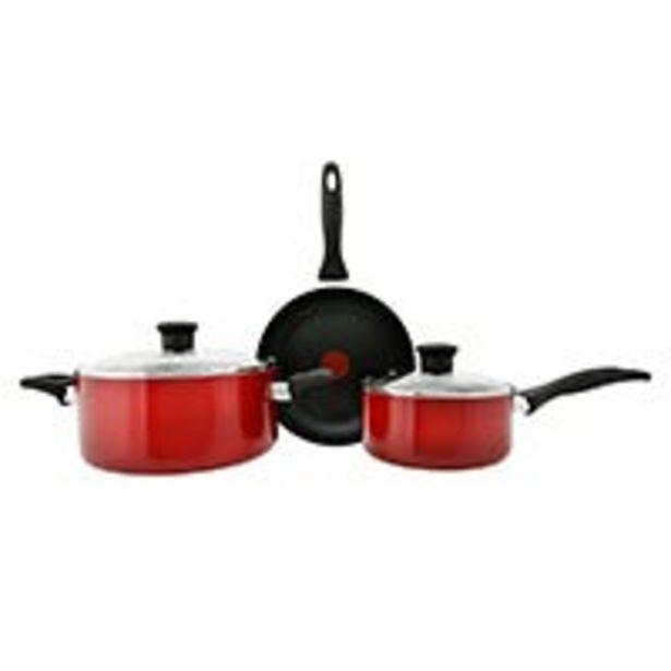 Oferta de Batería 5 piezas Family Cook T-Fal por $1149