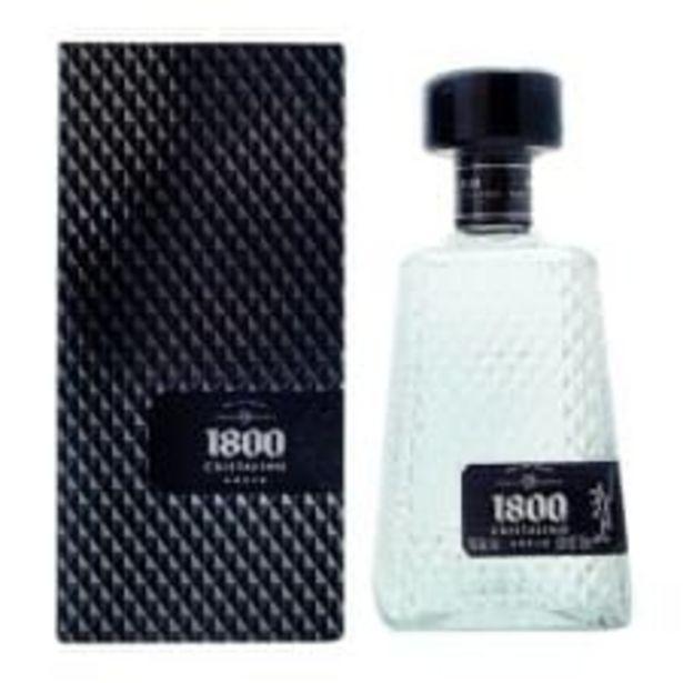 Oferta de Tequila 1800 Cristalino Añejo 700 ml por $618