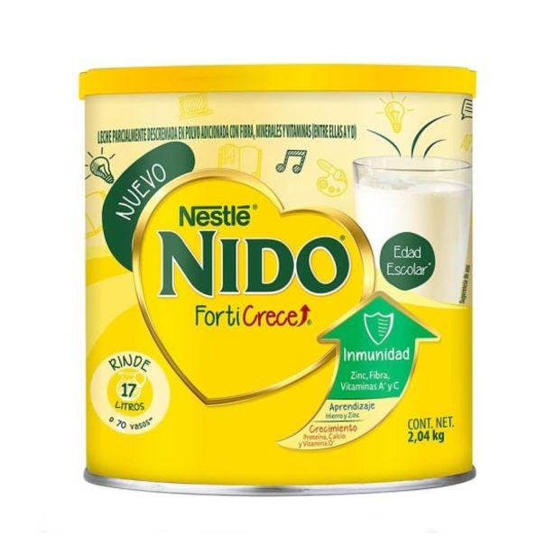 Oferta de Leche en polvo Nido Forti Crece edad escolar 2.04 kg por $270