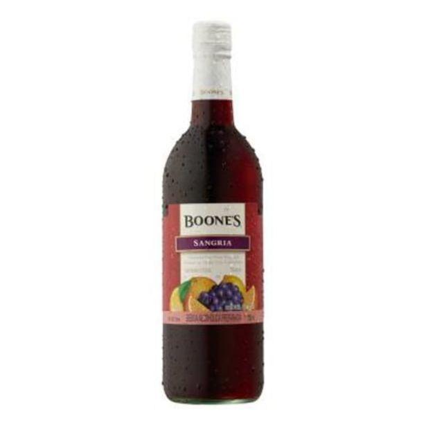 Oferta de Bebida alcohólica preparada Boones Sangría 750 ml por $61.5
