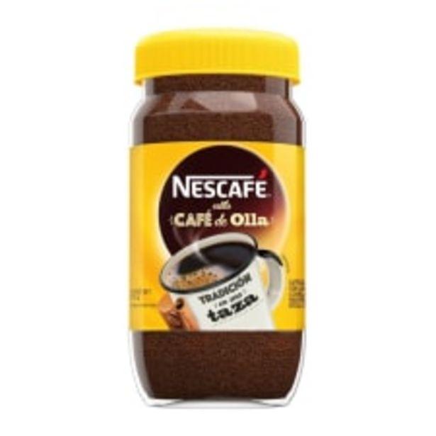 Oferta de Café soluble Nescafé estilo café de olla 170 g por $44.1