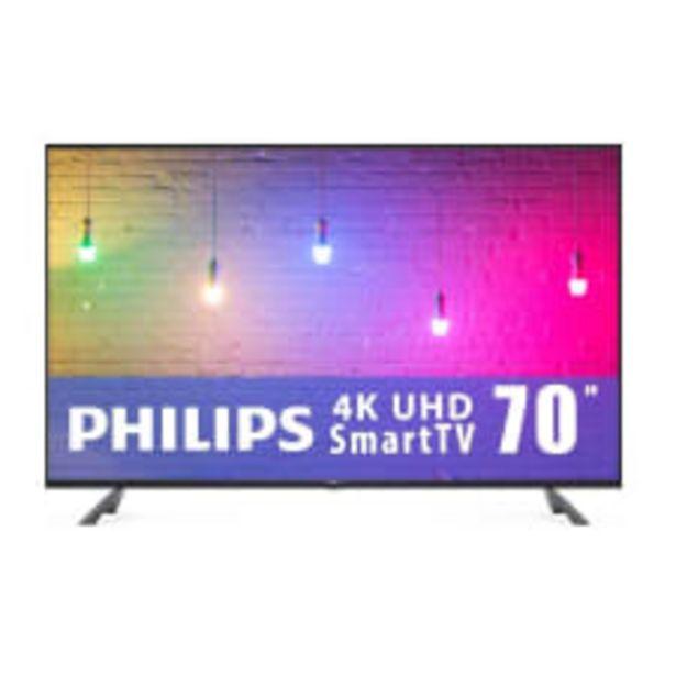 Oferta de TV Philips 70 Pulgadas 4K Ultra HD Smart TV LED 70PFL5656/F8 por $16499