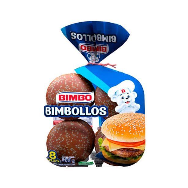Oferta de Pan para hamburguesa Bimbo Bimbollos 8 pzas por $36.4