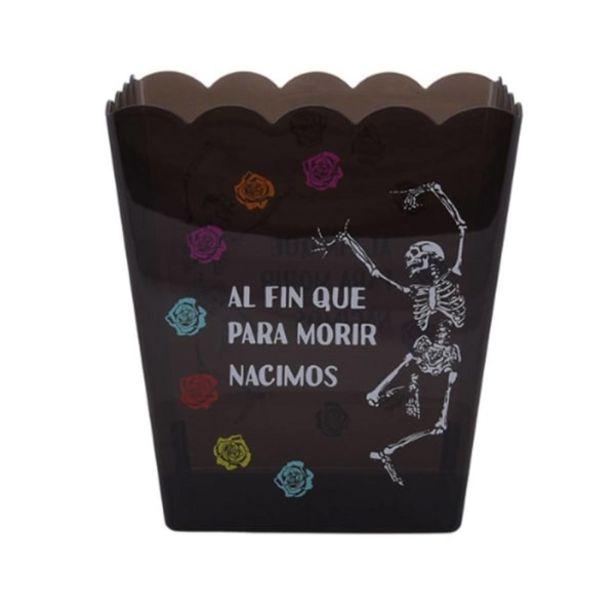 Oferta de Palomero Mainstays Acrílico Día de Muertos Negro 54 Onzas por $49.9