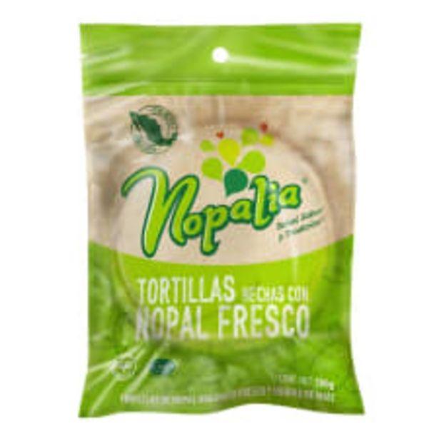 Oferta de Tortillas de nopal Nopalia 500 g por $27