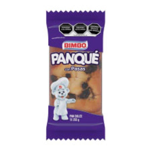 Oferta de Panqué Bimbo con pasas 255 g por $26