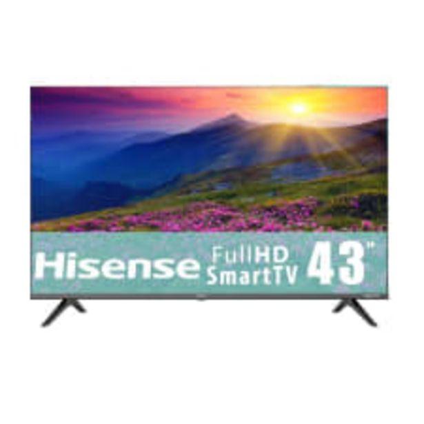 Oferta de TV Hisense 43 Pulgadas Full HD Smart TV LED 43H4000GM por $6599