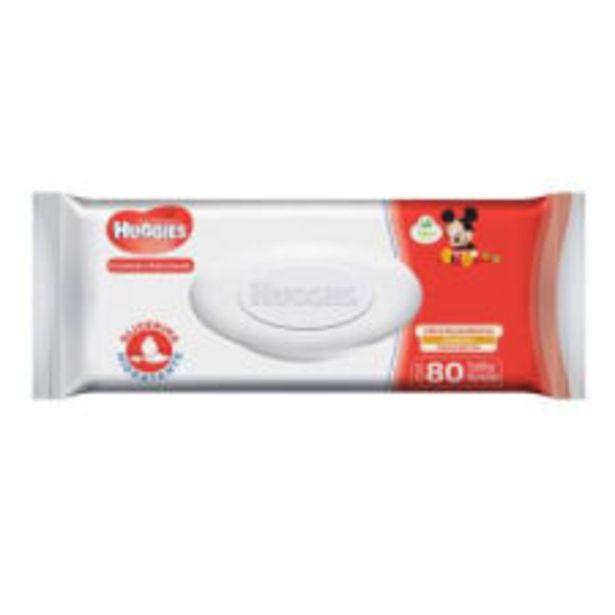 Oferta de Toallitas húmedas Huggies cuidado hidratante 80 pzas por $48