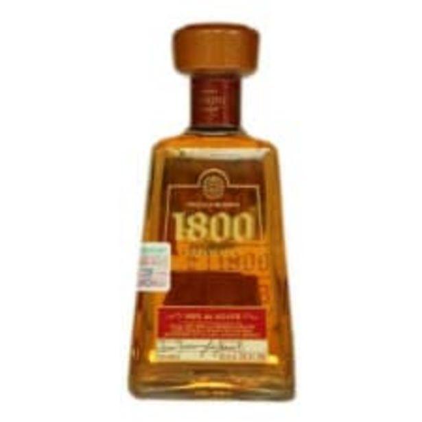 Oferta de Tequila 1800 Reposado 700 ml por $418