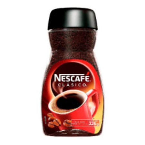 Oferta de Café soluble Nescafé clásico 225 g por $90.5