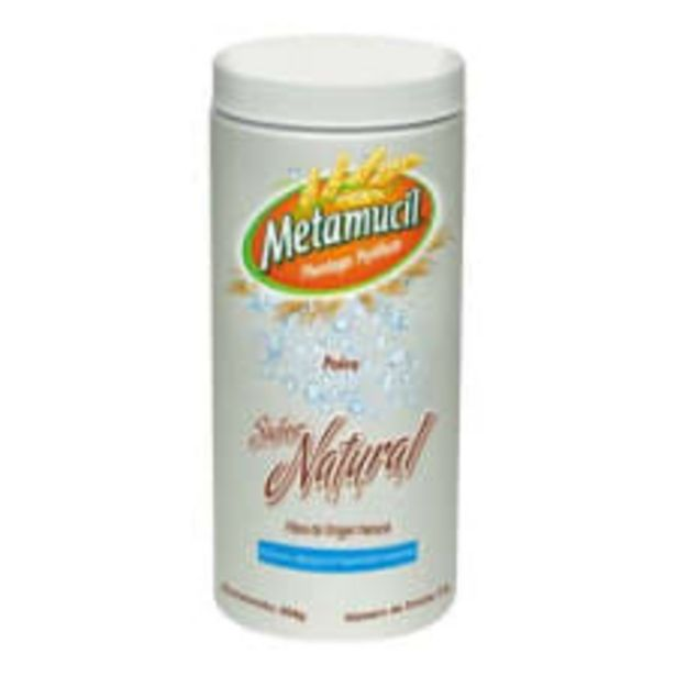 Oferta de Fibra multibeneficios Metamucil sabor natural 504 g por $387