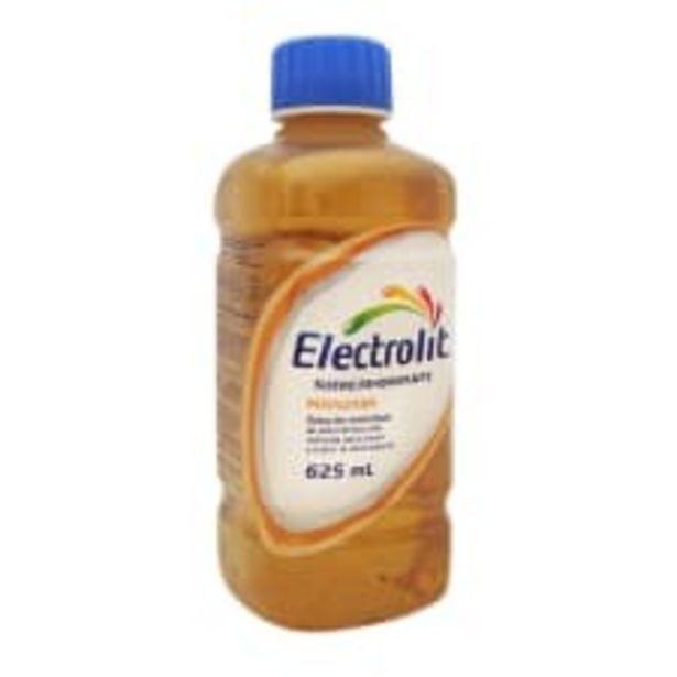 Oferta de Suero rehidratante Electrolit sabor manzana 625 ml por $20.9
