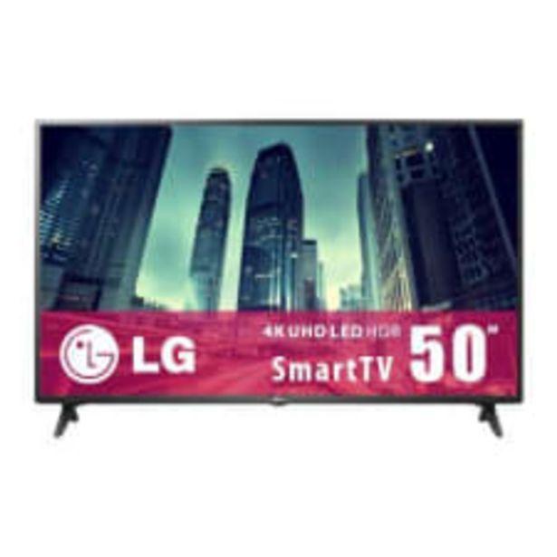 Oferta de TV LG 50 Pulgadas 4K UHD AI ThinQ Smart TV LED 50UN69513ZU por $13599