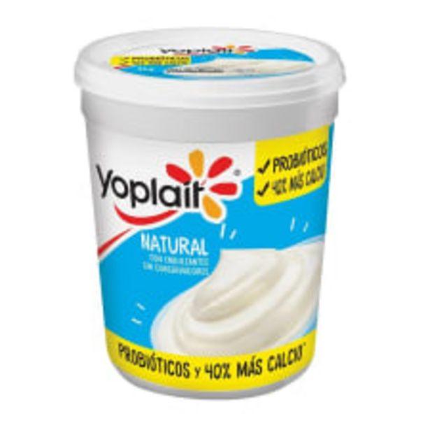 Oferta de Yoghurt Yoplait natural con probióticos 1 kg por $36.8