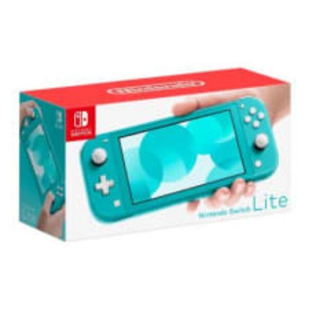 Oferta de Consola Nintendo Switch Lite Azul Turquesa por $5690