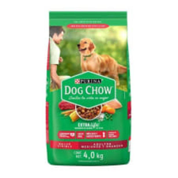 Oferta de Alimento para Perro Dog Chow Extra Life Adultos Medianos y Grandes 4.0 kg por $199